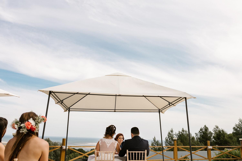 cerimónia de casamento na serra da arrábida