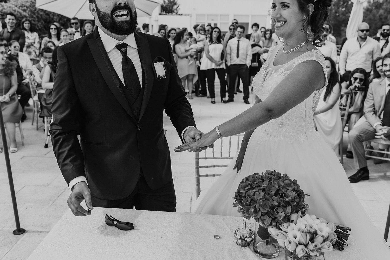 troca de alianças em casamento em Setubal
