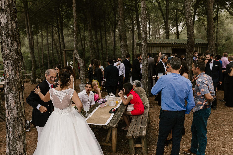 cocktail boho em casamento em Setubal