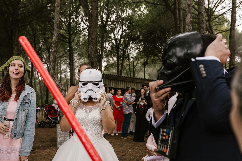 casamento guerra das estrelas