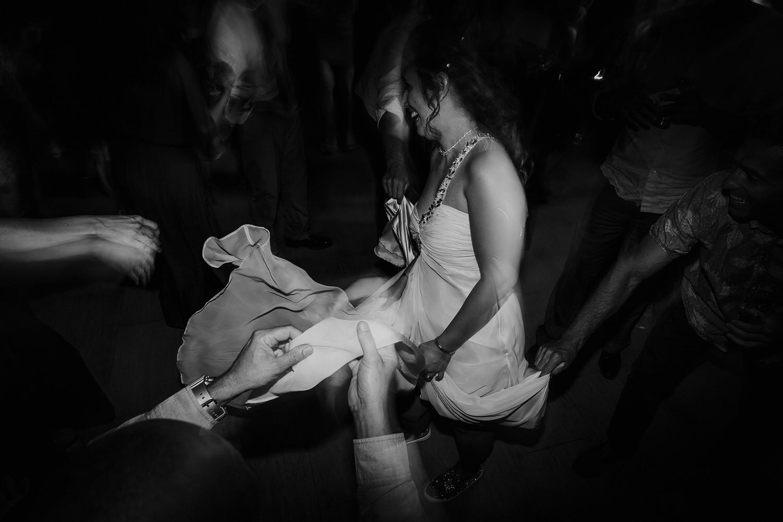 noiva a dançar