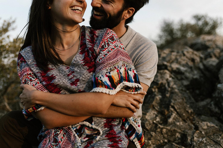 retrato moderno de um casal apaixonado