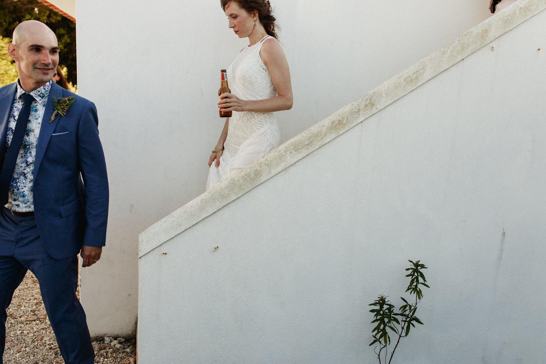 retrato jornalístico de noivos