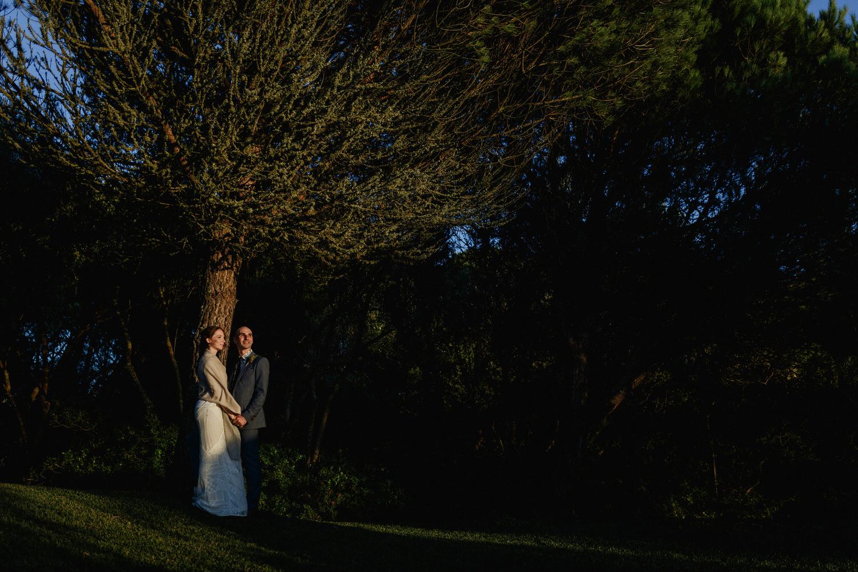 wedding portraits at the gorgeous casa das xaras