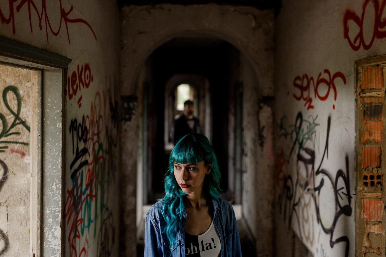 fotografia artistica em hotel abandonado no seixal