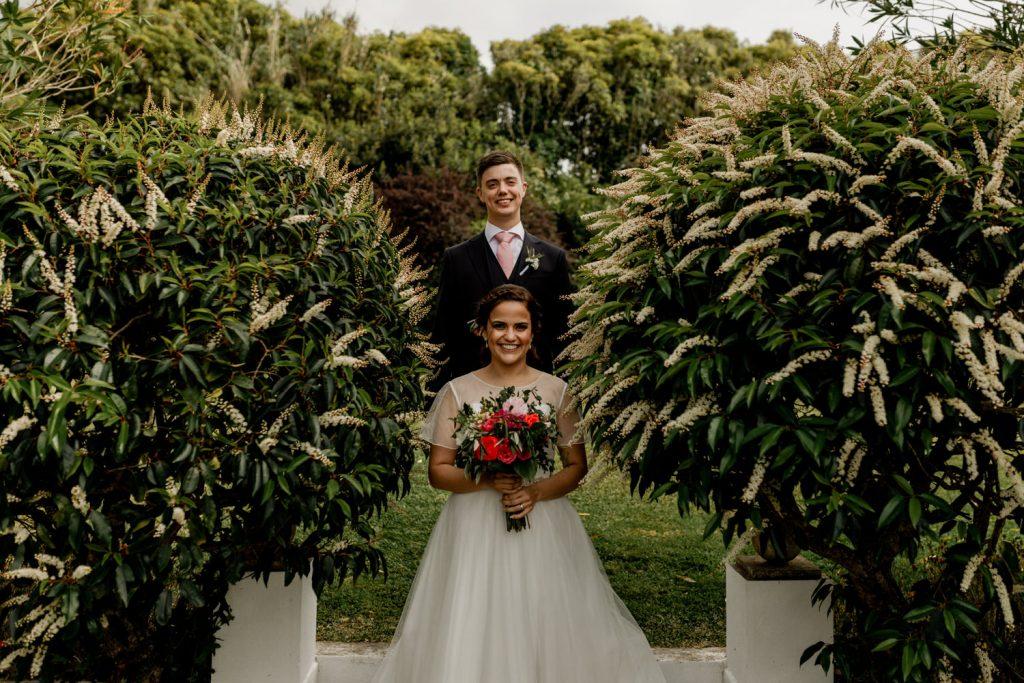 retrato dos noivos na quinta casa portuguesa